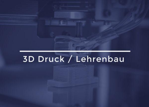 3D Druck / Lehrenbau