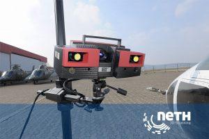 3D Scanning mit Atos Triple Scan