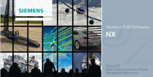 SiemensNX Software für die Konstruktion