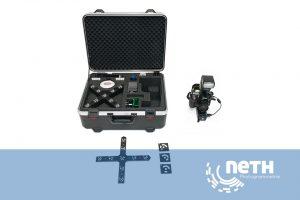 GOM Tritop Photogrammetrie für die optische Messung von Großbauteilen
