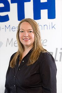 Tanja Keller Projektleitung Messtechnik Neth